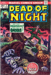 Dead of Night Vol.1 (Marvel - 1973) -5- Deep Down!