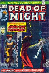Couverture de Dead of Night Vol.1 (Marvel - 1973) -6- Jack the Ripper!