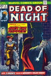 Dead of Night Vol.1 (Marvel - 1973) -6- Jack the Ripper!