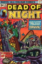 Dead of Night Vol.1 (Marvel - 1973) -10- I Dream of Doom!