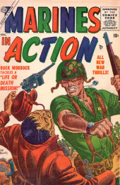 Marines in action (Atlas - 1955) -4- Life or Death Mission!