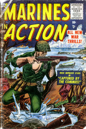 Marines in action (Atlas - 1955) -6- Captured by the Commies!