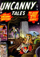 Uncanny Tales Vol.1 (Atlas - 1952) -1- While the City Sleeps!
