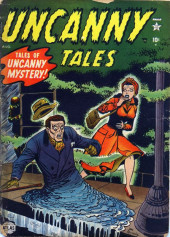 Uncanny Tales Vol.1 (Atlas - 1952) -2- The Man Who Melted