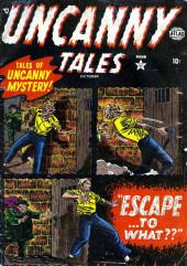 Uncanny Tales Vol.1 (Atlas - 1952) -3- Escape...To What?