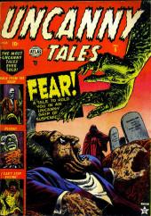 Uncanny Tales Vol.1 (Atlas - 1952) -5- Fear!
