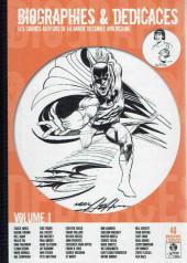 (DOC) (biographies, entretiens...) - Biographies & Dédicaces - Les grands auteurs de la bande dessinée américaine Volume 1