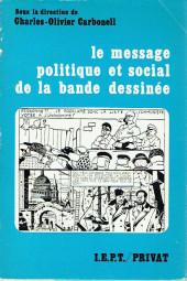 (DOC) Études et essais divers - Le message politique et social de la bande dessinée
