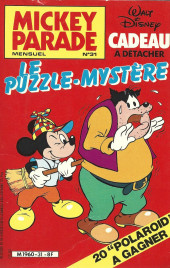 Mickey Parade -31- Le puzzle-mystère