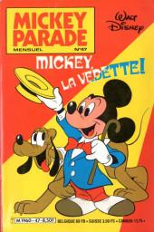 Mickey Parade -47- Mickey, la vedette!