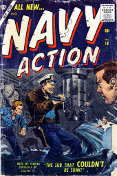Navy Action (Atlas - 1957) -18- The Sub That Couldn't Be Sunk!