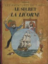 Tintin (Historique) -11A21- Le secret de la Licorne