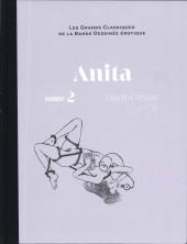 Les grands Classiques de la Bande Dessinée érotique - La Collection -9490- Anita - Tome 2