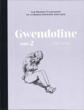Les grands Classiques de la Bande Dessinée érotique - La Collection -9594- Gwendoline - Tome 2