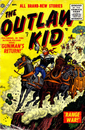 Outlaw Kid Vol.1 (The) (Atlas - 1954) -7- Gunman's Return!