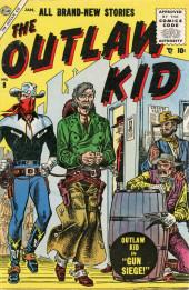 Outlaw Kid Vol.1 (The) (Atlas - 1954) -9- Gun Siege!