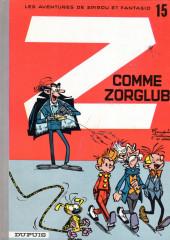 Spirou et Fantasio -15b1987- Z comme ZORGLUB