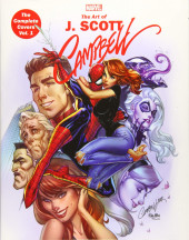 Marvel Monograph -2- The Art of J. Scott Campbell - The Complete Covers Vol. 1