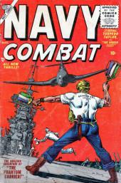 Navy Combat (Atlas - 1955) -2- The Phantom Carrier!