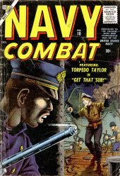 Navy Combat (Atlas - 1955) -10- Get that Sub!