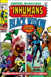 Amazing Adventures Vol.2 (Marvel - 1970) -3- The Battle of Doom! / Death to the Black Widow!