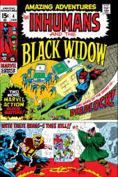 Amazing Adventures Vol.2 (Marvel - 1970) -4- Deadlock! / With These Rings--I Thee Kill!!