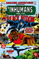 Amazing Adventures Vol.2 (Marvel - 1970) -7- Burn, Black Bolt--Burn! / The Widow Wraps It Up!!