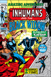 Amazing Adventures Vol.2 (Marvel - 1970) -8- Black Bolt vs. Thor / The Web of the Black Widow!