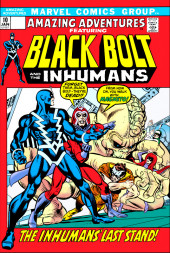 Amazing Adventures Vol.2 (Marvel - 1970) -10- The Inhumans' Last Stand!