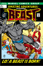 Amazing Adventures Vol.2 (Marvel - 1970) -11- Lo! A Beast Is Born!