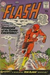 Flash (The) Vol.1 (DC comics - 1959) -111- Invasion of the Cloud Creatures!