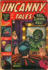 Uncanny Tales Vol.1 (Atlas - 1952) -7- Kill, Clown, Kill!