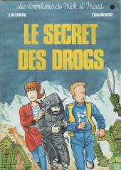 Mick et Maud (Les aventures de) -1- Le secret des Drogs