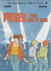 Mick et Maud (Les aventures de) -5- Pièges pour Mick et Maud