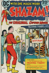 Shazam (DC comics - 1973) -7- The Troubles of the Talking Tiger!