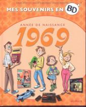Mes souvenirs en BD - Année de naissance 1969