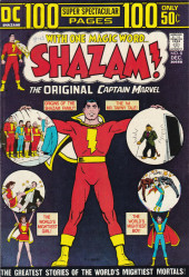 Shazam (DC comics - 1973) -8- The Greatest Stories of the World's Mightiest Mortals!