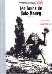Les grands Classiques de la BD Historique Vécu - La Collection -8- Les Tours de Bois-Maury - Tome III : Germain