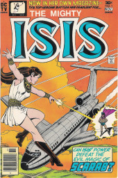 Mighty Isis (The) (DC comics - 1976) -1- Scarab - The Man Who Would Destroy