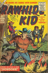 Rawhide Kid Vol.1 (Atlas/Marvel - 1955) -7- Trapped!