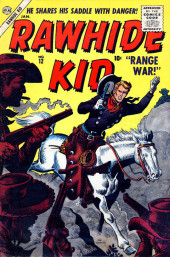 Rawhide Kid Vol.1 (Atlas/Marvel - 1955) -12- Range War!