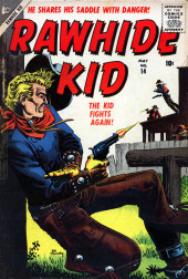 Rawhide Kid Vol.1 (Atlas/Marvel - 1955) -14- The Kid Fights Again!