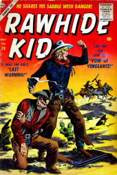 Rawhide Kid Vol.1 (Atlas/Marvel - 1955) -15- Last Warning!