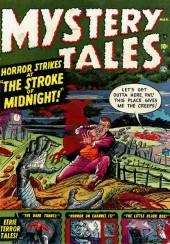Mystery Tales (Atlas - 1952) -1- The Stroke of Midnight!