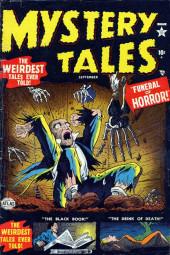 Mystery Tales (Atlas - 1952) -4- Funeral of Horror!