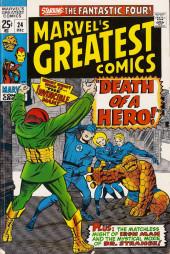 Marvel's Greatest Comics (Marvel - 1969) -24- Death of a Hero!