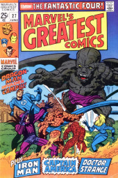 Marvel's Greatest Comics (Marvel - 1969) -27- Dragon-Man Invades the Campus!