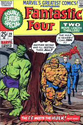 Couverture de Marvel's Greatest Comics (Marvel - 1969) -29- The F.F. Meet the Hulk! 'Nuff Said!