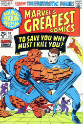 Marvel's Greatest Comics (Marvel - 1969) -32- To Save You, Why Must I Kill You?