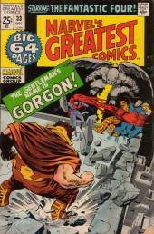 Marvel's Greatest Comics (Marvel - 1969) -33- The Gentleman's Name Is Gorgon!